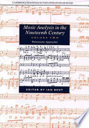 Music Analysis In The Nineteenth Century Volume 2 Hermeneutic Approaches book