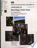 Rogue River Siskiyou National Forest  N F    Eden Ridge Timber Sales  Coos County