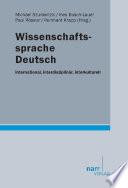 Wissenschaftssprache Deutsch