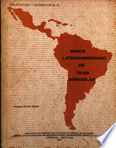 Ndice Latinoamericano De Tesis Agr Colas