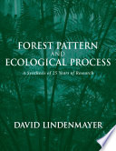 Forest Pattern and Ecological Process Of 25 Years Of Intensive Research