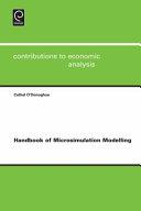 Handbook of Microsimulation Modelling