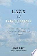 Lack Transcendence