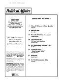 Political Affairs