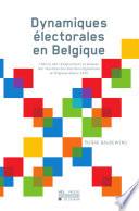 Dynamiques   lectorales en Belgique