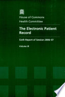 The Electronic Patient Record