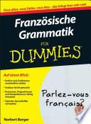 Franz  sische Grammatik f  r Dummies