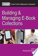 Building and Managing E book Collections