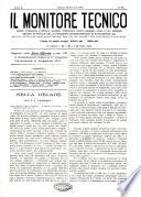 Il monitore tecnico giornale d architettura  d Ingegneria civile ed industriale  d edilizia ed arti affini
