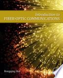 Introduction To Fiber Optic Communications