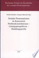Sozialer Protestantismus im Kaiserreich