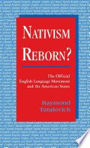 Nativism Reborn?
