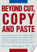 Beyond Cut  Copy and Paste