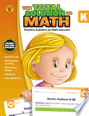 Your Total Solution for Math  Grade K