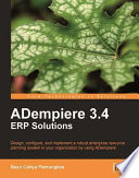 ADempiere 3  4 ERP Solutions
