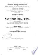 Trattato di anatomia dell uomo come fondamento della fisiologia e delle applicazioni pratiche