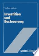 Investition und Besteuerung