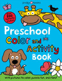 Preschool Color   Activity Book