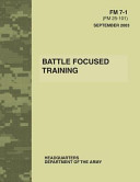 Battle Focused Training Fm 7 1