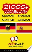 21000+ German - Spanish Spanish - German Vocabulary