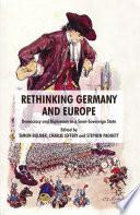Ebook Rethinking Germany and Europe Epub Stephen Padgett,C. Jeffery,Simon Bulmer Apps Read Mobile