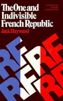 The One and Indivisible French Republic