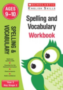 Spelling and Vocabulary Workbook  Year 5
