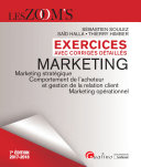 Exercices avec corrig  s d  taill  s   Marketing 2017 2018
