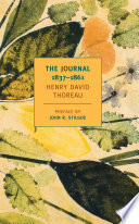 The Journal of Henry David Thoreau  1837 1861