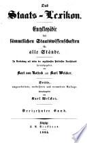 Das Staats Lexikon