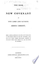 The Book of the New Covenant of Our Lord and Saviour Jesus Christ