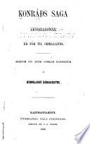 Konráðs saga keisarasonar