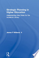 Strategic Planning in Higher Education