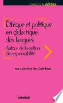 Ethique et politique en didactique des langues