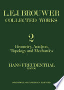 L  E  J  Brouwer Collected Works