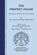 download ebook the prophet isaiah pdf epub
