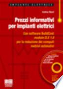 Prezzi informativi per impianti elettrici