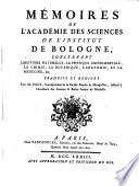 Memoires de l'academie des sciences ...