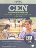 CEN Exam Review Book 2016