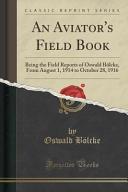 An Aviator s Field Book