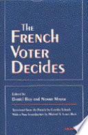 illustration du livre The French Voter Decides