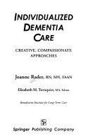 Individualized Dementia Care Book PDF