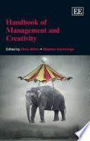 Handbook of Management and Creativity