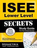 ISEE Lower Level Secrets Study Guide