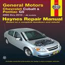 General Motors Chevrolet Cobalt   Pontiac G5
