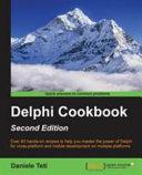 Delphi Cookbook   Second Edition