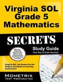 Virginia SOL Grade 5 Mathematics Secrets Study Guide