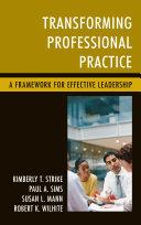 Transforming Professional Practice