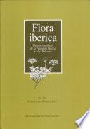Flora ibérica: Rubiaceae-Dipsacaceae