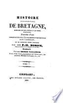 Histoire ecclésiastique et civile de Bretagne, composée sur les auteurs et les titres originaux